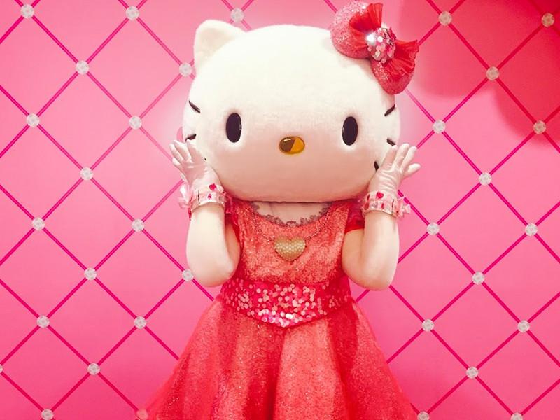 USJでキティちゃんに会えるグリーティング施設!『ハローキティのリボン・コレクション』