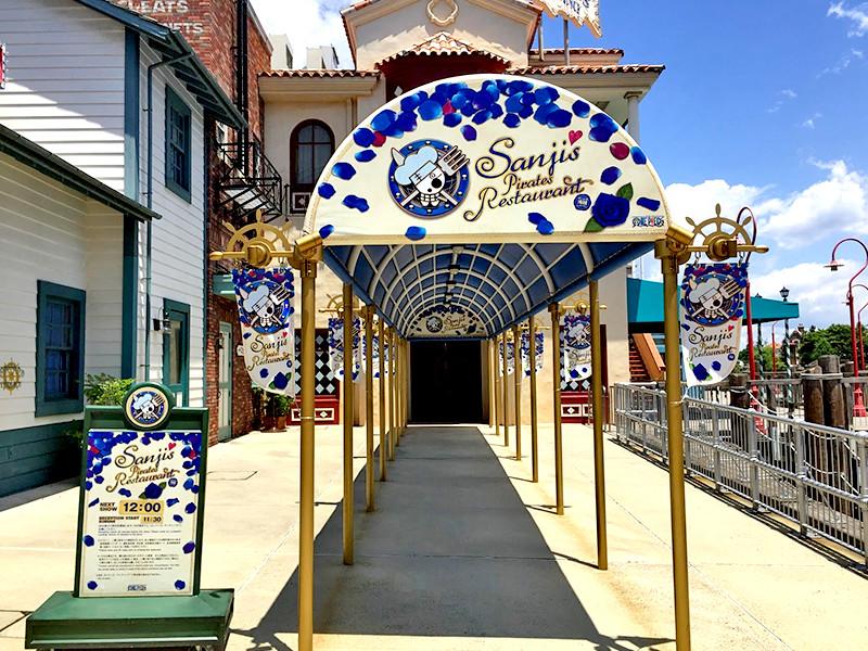 『サンジの海賊レストラン』は麦わらの一味のサンジがおくる大好評のレストラン2017