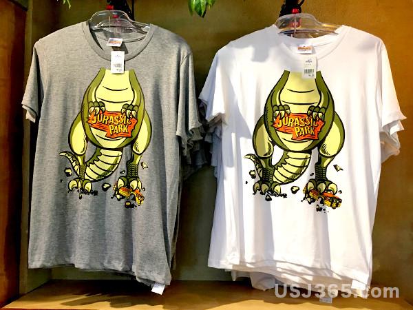 USJ限定☆ジュラシックパークで買えるTシャツ全部まとめ