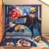 グルー&ミニオンたちのトリックアートがユニバーサル・シティウォークに新登場!
