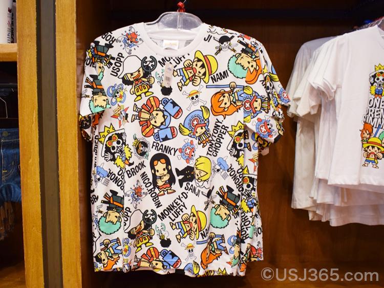 ワンピース 総柄Tシャツ