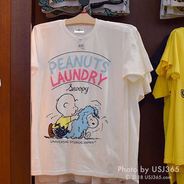 スヌーピー Tシャツ(PEANUTS LAUNDRY)ホワイト