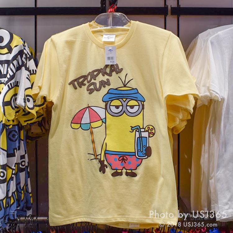 ミニオン Tシャツ(TROPICAL SUN)イエロー