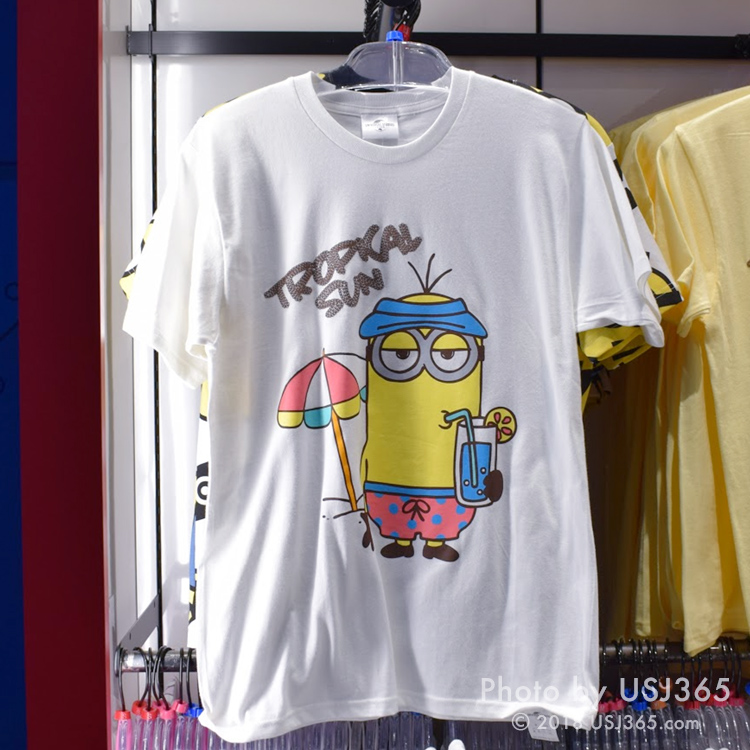 ミニオン Tシャツ(TROPICAL SUN)ホワイト