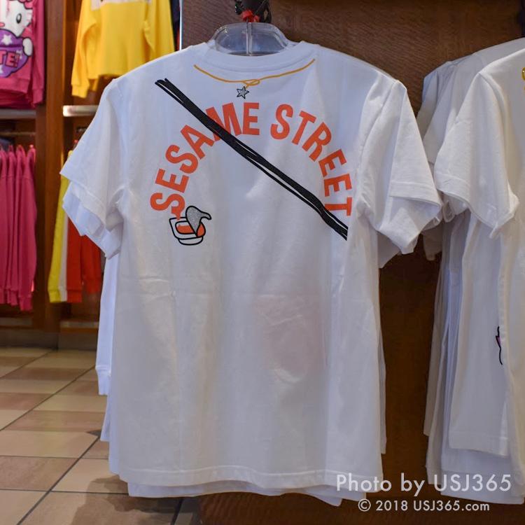 セサミストリート Tシャツ(背面)