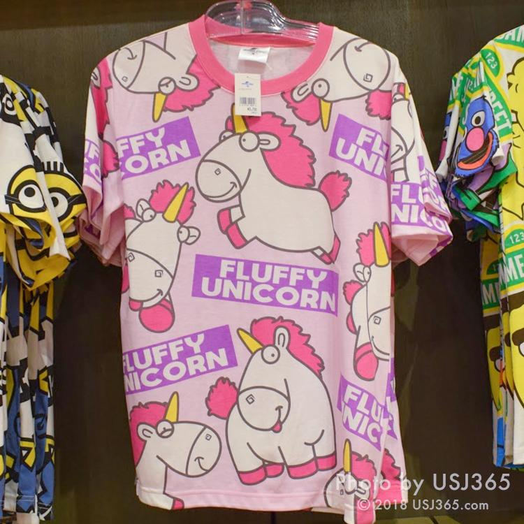 フラッフィ Tシャツ(パターン柄)