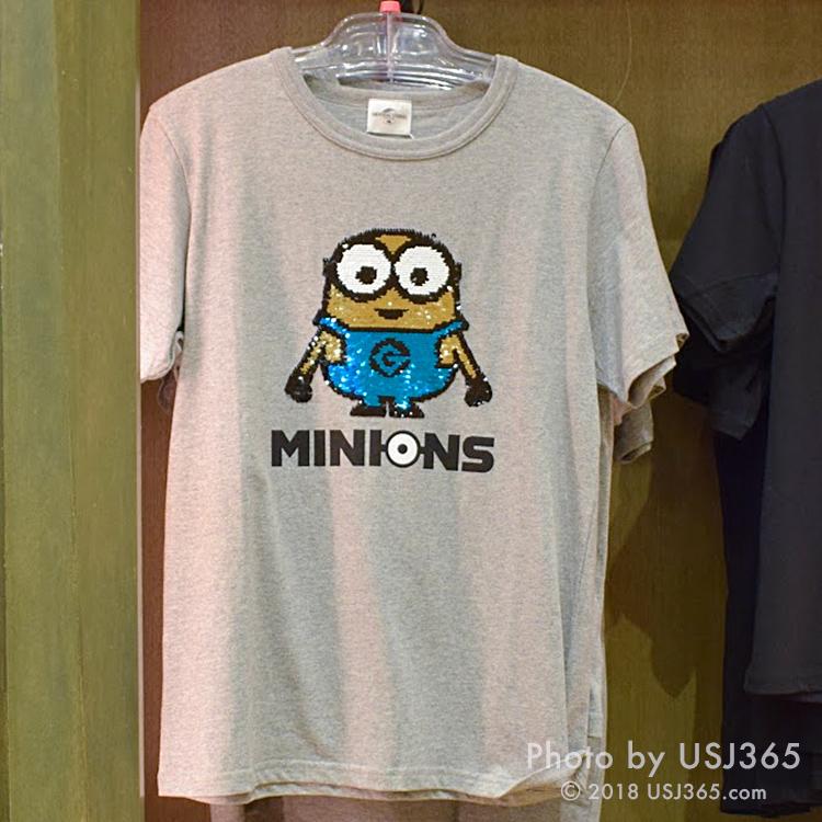 ミニオン スパンコール Tシャツ