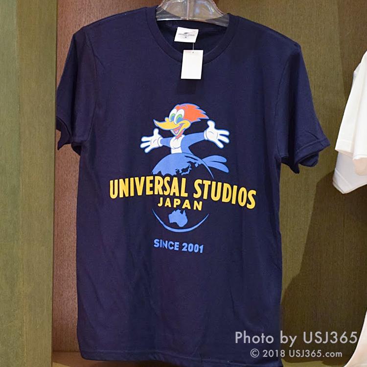 ウッドペッカー USJ Tシャツ(ネイビー)