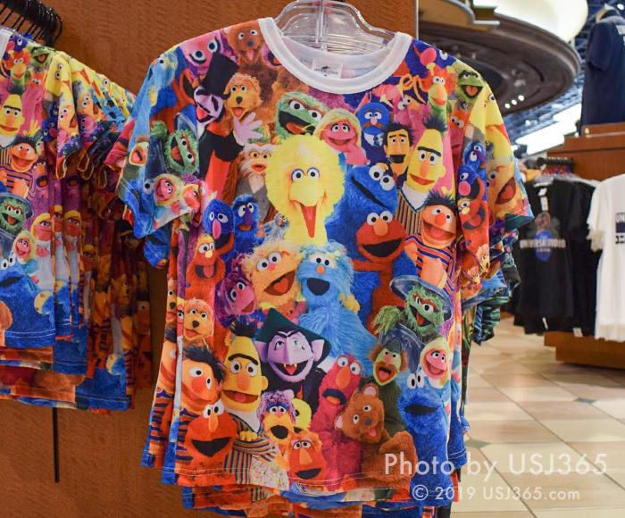 セサミストリート 実写Tシャツ