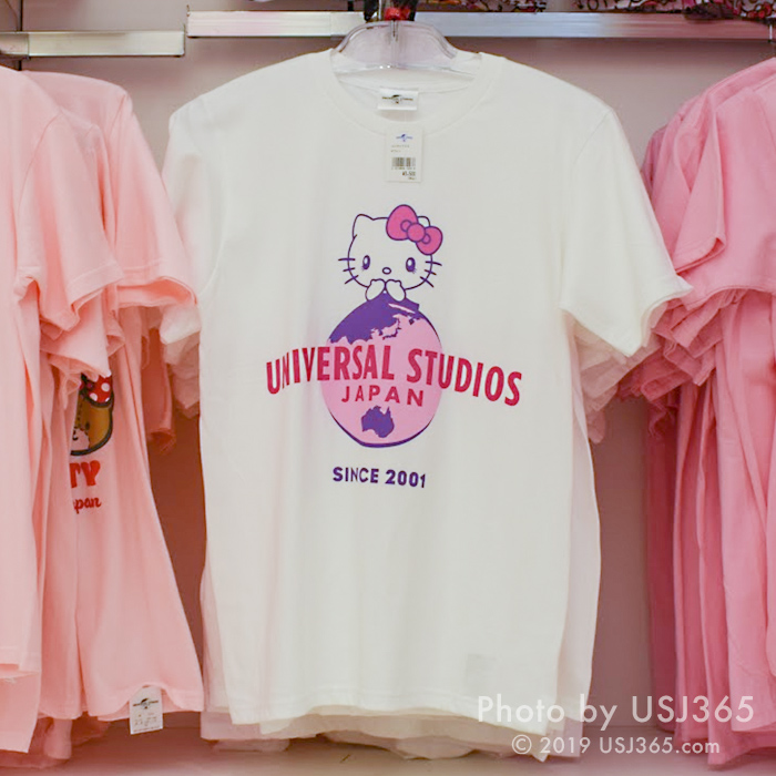 ハローキティ USJ Tシャツ(ホワイト)