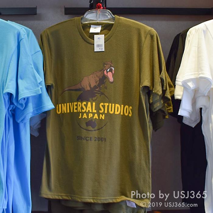 ジュラシックワールド USJ Tシャツ(カーキ)
