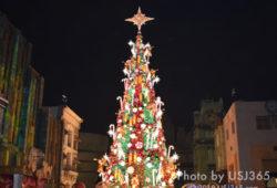 【USJクリスマス】イリュージョンツリーやパーク内デコレーションまとめ