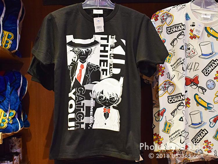 Tシャツ(名探偵コナン&怪盗キッド)