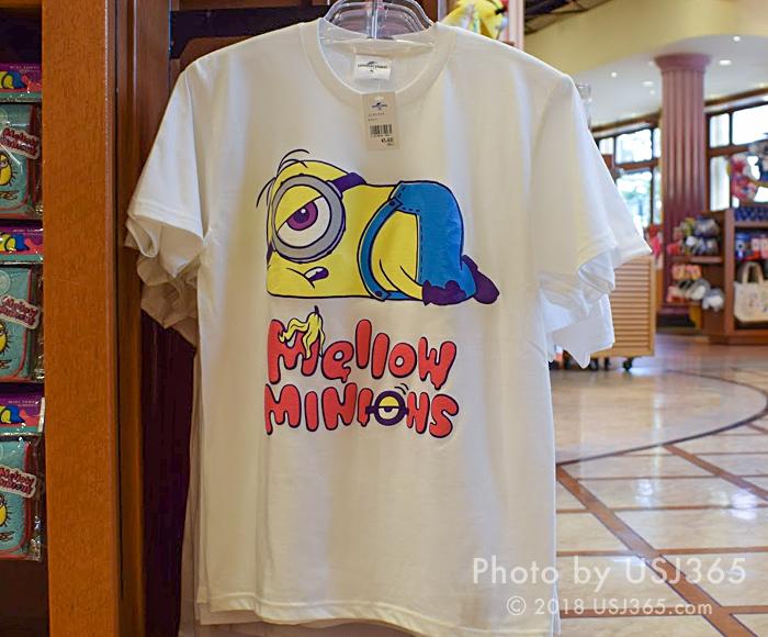 ミニオン Tシャツ(MELLOW MINIONS)ホワイト