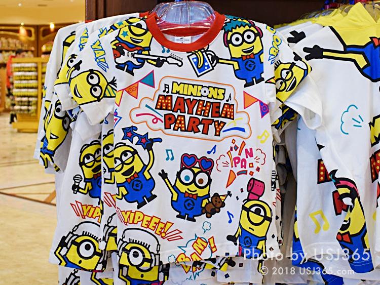 ミニオン ビッグパターンTシャツ(MAYHEM PARTY)