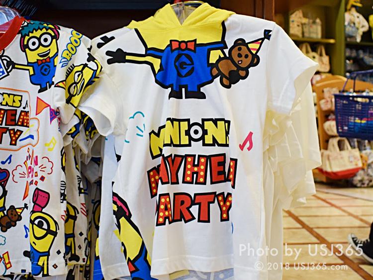 ミニオン フード付きTシャツ(ボブ)