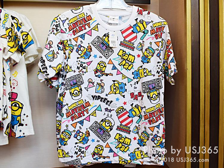 ミニオン パターンTシャツ(MAYHEM PARTY)