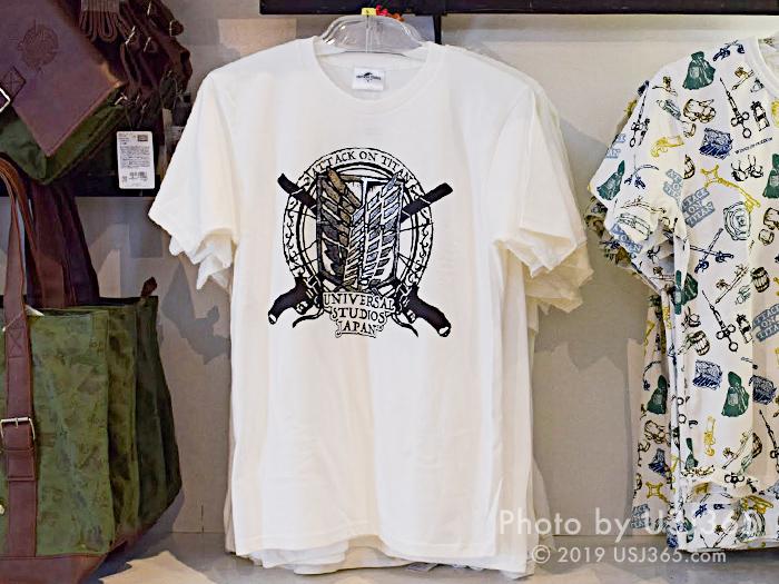 進撃の巨人 Tシャツ(ホワイト)