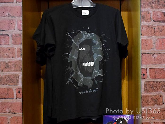 進撃の巨人 Tシャツ(ブラック)