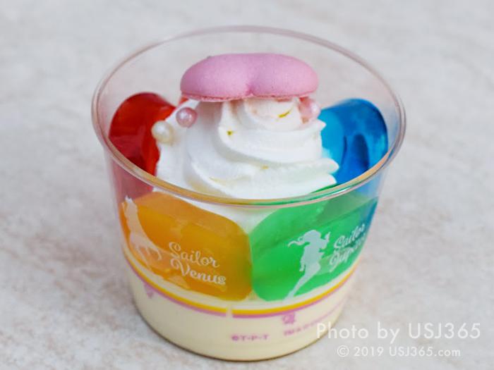 セーラー5戦士のデザート 〜カラフルゼリー&パインチョコムース〜(後)
