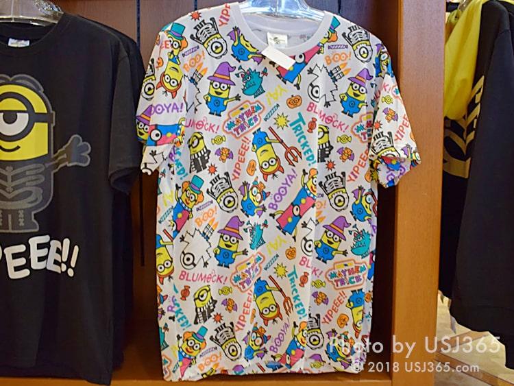 ミニオン パターンTシャツ(ハロウィン)