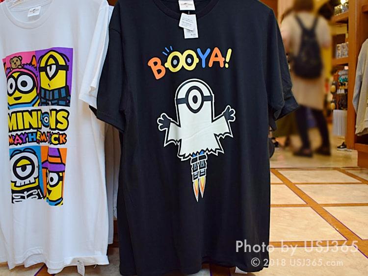 ミニオン Tシャツ 黒(ハロウィン)