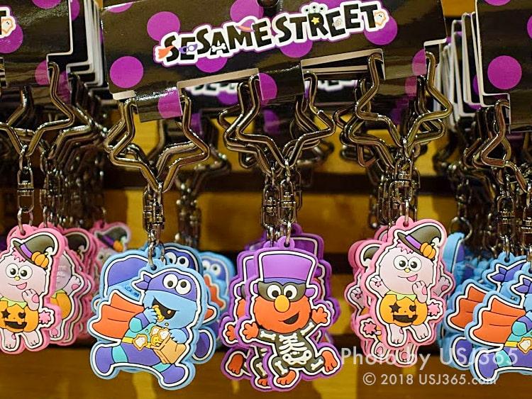 セサミストリート チャームセット 3個(ハロウィーン)