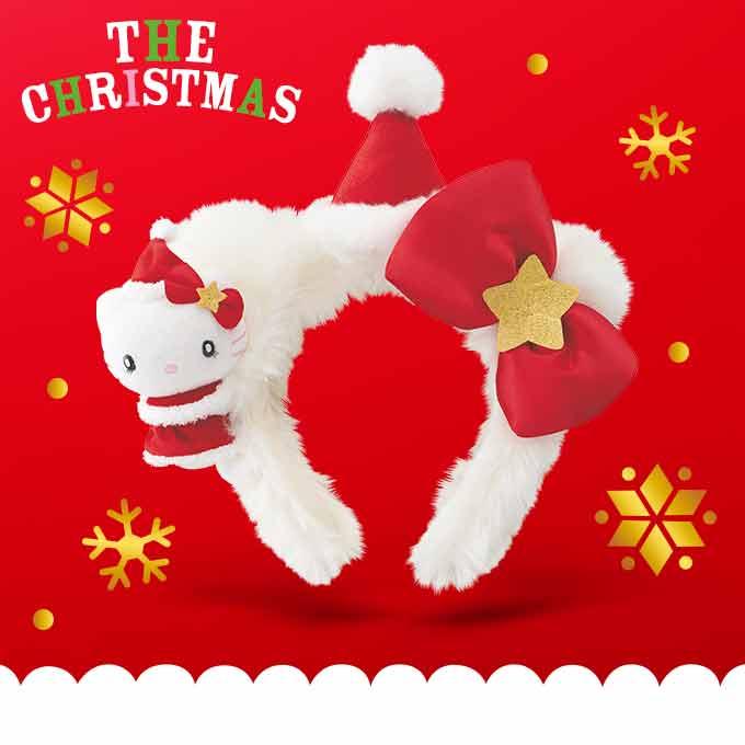 ハローキティ カチューシャ(クリスマス)
