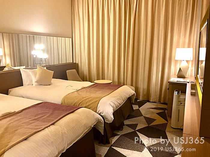 ホテル ユニバーサル ポート ヴィータの客室