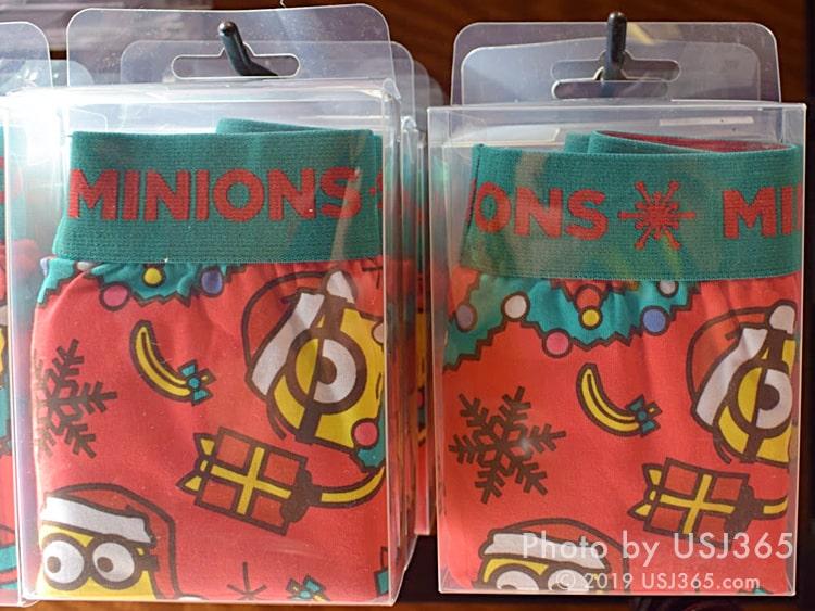 ミニオン メンズ ボクサーパンツ(クリスマス)