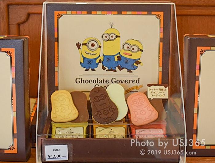 ミニオン チョコレートカバードクッキー