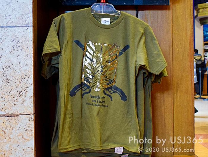 ロゴ Tシャツ(進撃の巨人)