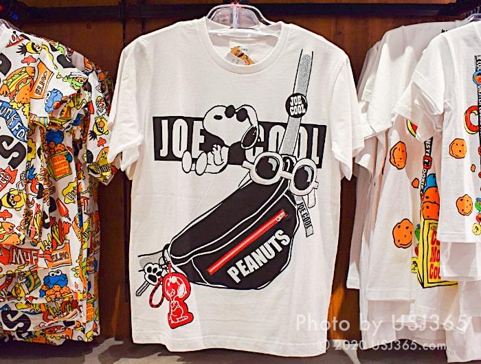 スヌーピー Tシャツ(トロンプルイユ)
