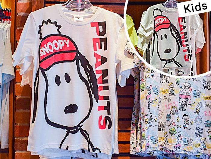 スヌーピー Tシャツ(ビッグフェイス)