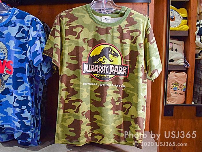 ジュラシックパーク Tシャツ(カモフラージュ柄)