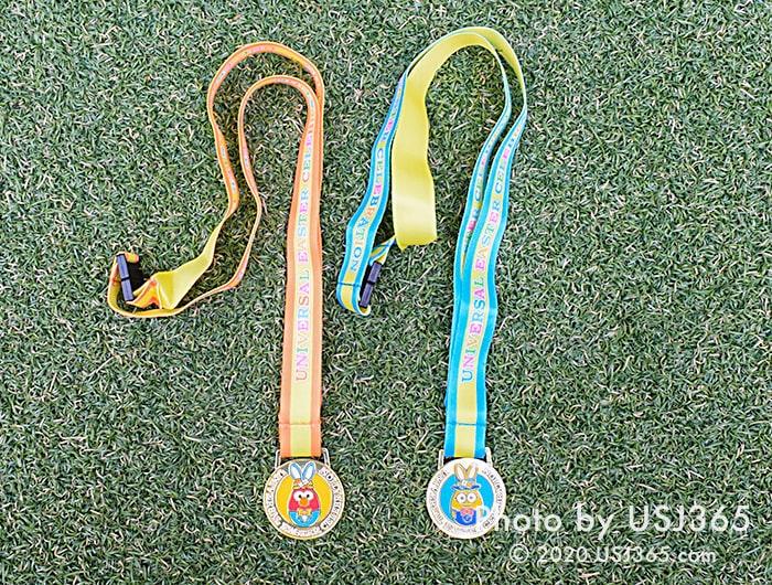 「たまごさがしラリー」のメダル