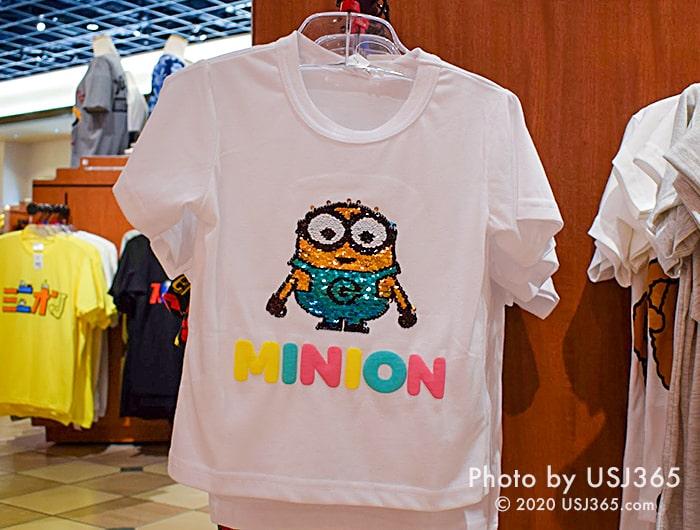 ミニオン スパンコールTシャツ