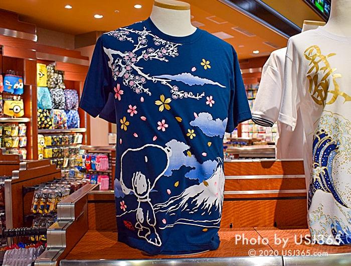 スヌーピー 和風Tシャツ
