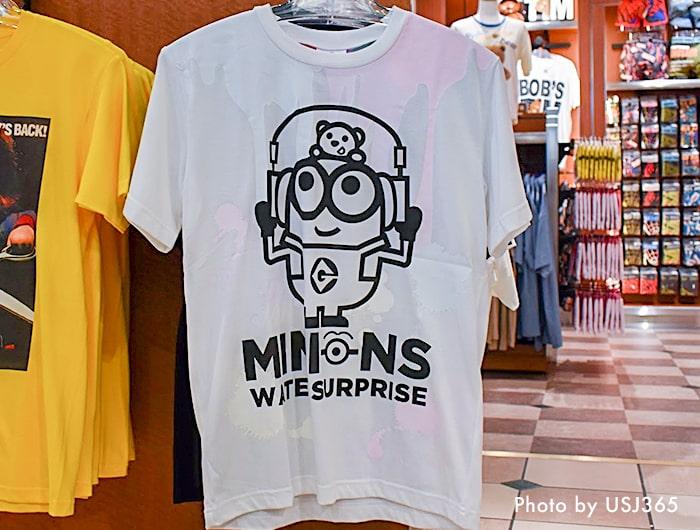 ミニオン(ボブ) 濡れると色が変わるTシャツ