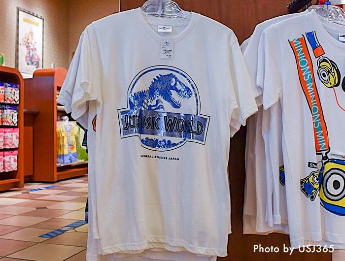 ジュラシックワールド ロゴTシャツ(ホワイト)