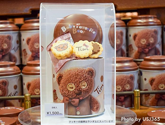 ティム チョコクリームサンドクッキー (ボブズ フェイバリット ベア)