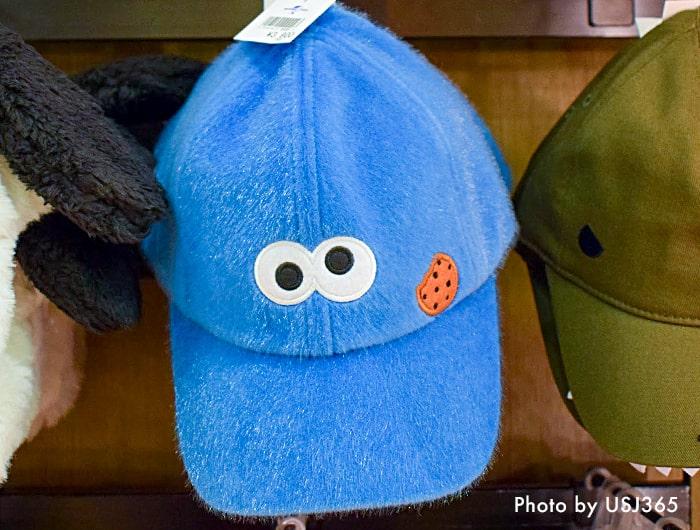 セサミストリート クッキーモンスター キャップ(帽子)