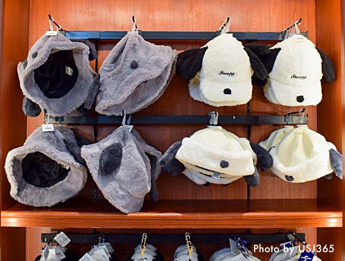 秋冬キャップ&帽子の売り場