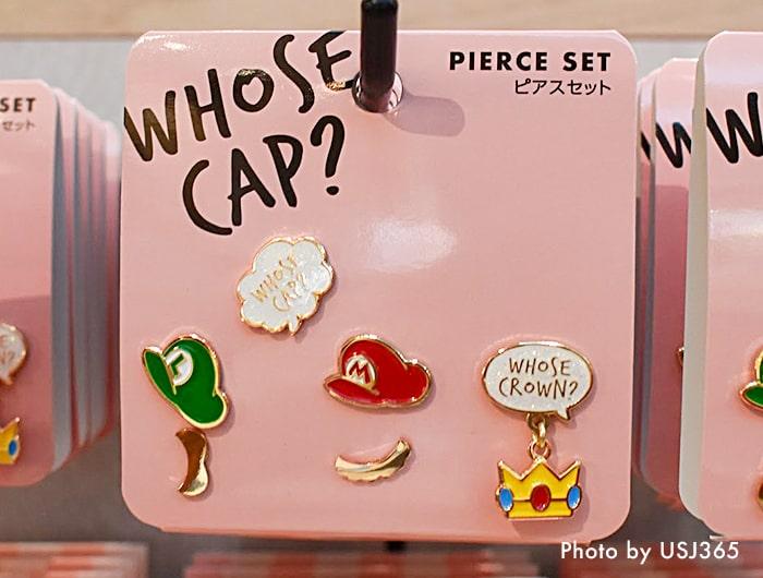 WHOSE CAP?ピアスセット