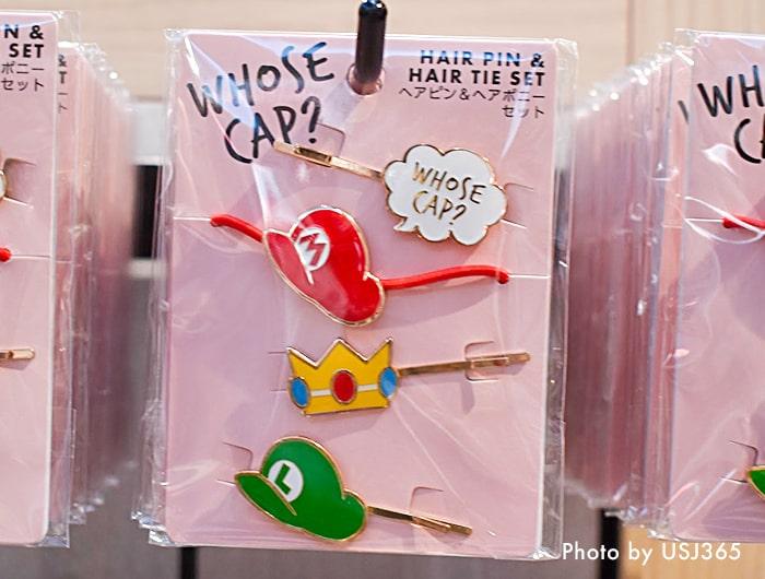 「WHOSE CAP?」 ヘアピン&ヘアポニーセット