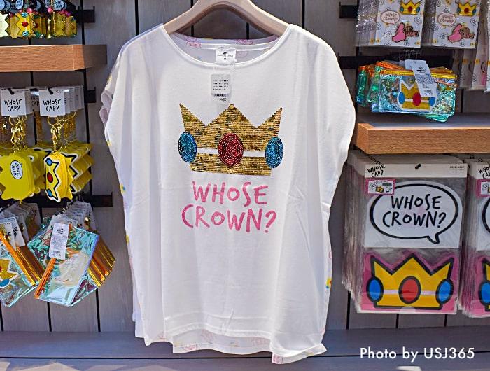 ピーチ姫 Tシャツ