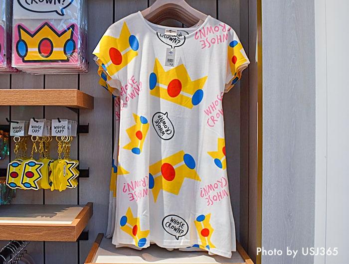 ピーチ姫 ロングTシャツ