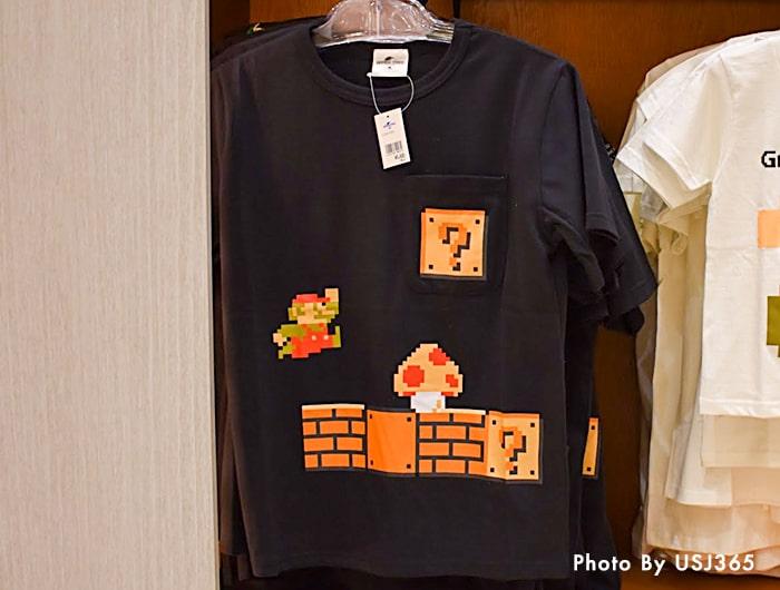 Tシャツスーパー・ニンテンドー・ワールド 8bitマリオ