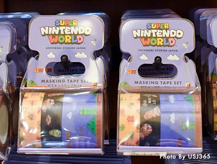マスキングテープセット(3本)スーパー・ニンテンドー・ワールド 8bitマリオ