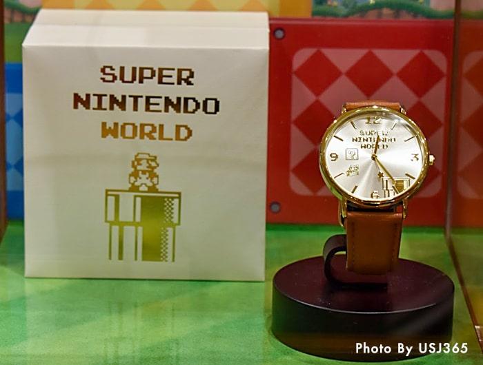 ウォッチ スーパー・ニンテンドー・ワールド 8bitマリオ